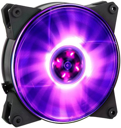 COOLERMASTER MASTERFAN PRO 120 AIR PRESSURE LED RGB 120MM