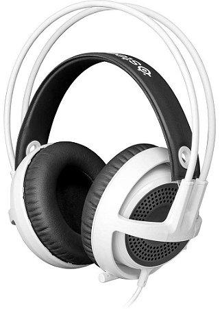 HEADSET GAMER STEELSERIES SIBERIA V3 WHITE PC / PS4