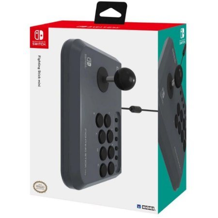 CONTROLE ARCADE HORI FIGHTING STICK MINI NINTENDO SWITCH