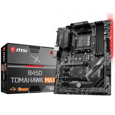 PLACA-MÃE MSI B450 TOMAHAWK MAX AMD AM4 DDR4