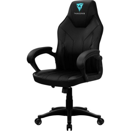 Cadeira Gamer EC1 Preta THUNDERX3
