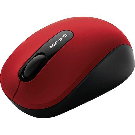 Mouse S/Fio Bluetooth MOB PN700018 Vermelho MICROSOFT