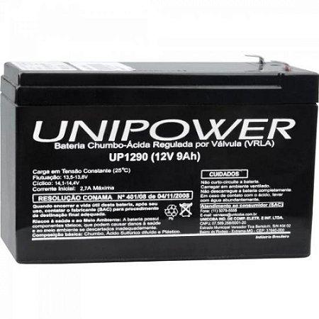 Bateria Selada 12V/9A UP1290 UNIPOWER