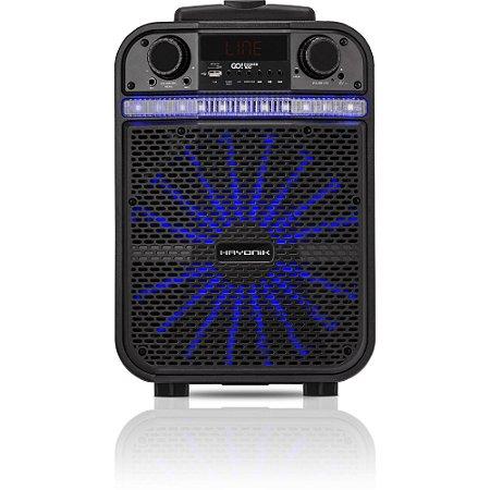 Caixa Multiuso Portátil Bluetooth/MicroSD/USB/FM 80W GO!POW