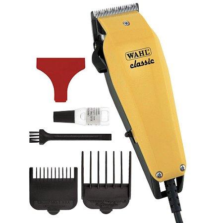 Máquina de Corte 127V CLASSIC Amarela WAHL