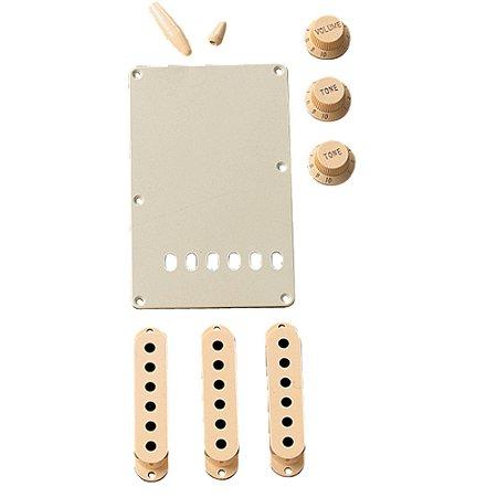 Kit de Acessórios Stratocaster Aged White FENDER