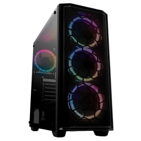 GABINETE GAMER REDRAGON RAMHORN MID TOWER GC-908