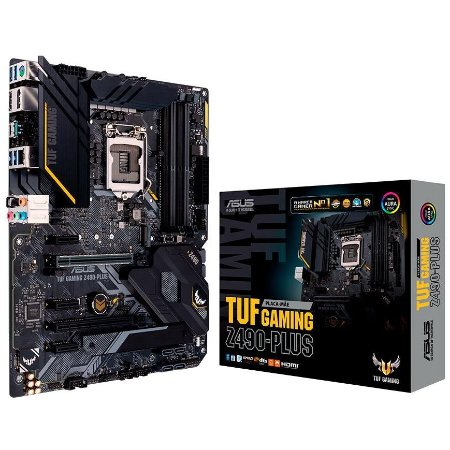 PLACA-MÃE ASUS TUF GAMING Z490-PLUS INTEL LGA 1200 DDR4