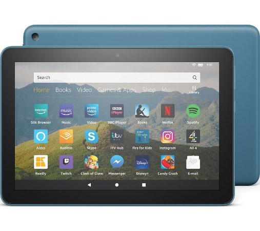 TABLET AMAZON FIRE HD 8 32GB QUAD-CORE DUAL-BAND AC WIFI DOLBY ATMOS TWILIGHT BLUE