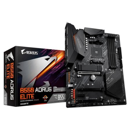PLACA-MÃE GIGABYTE B550 AORUS ELITE AMD AM4 DDR4