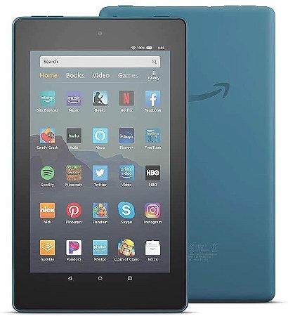TABLET AMAZON FIRE 7 16GB QUAD-CORE DUAL-BAND WIFI TWILIGHT BLUE
