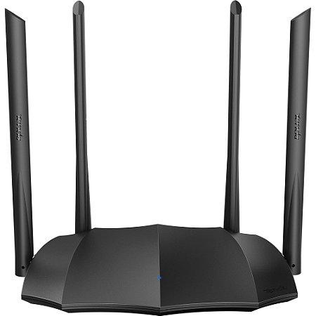 Roteador Wireless Gigabit 1200Mbps Dual Band AC8 Preto TENDA