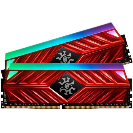 Memória Adata Xpg Spectrix D41 Rgb 32gb (2x16gb) 2666mhz C16 Vermelha