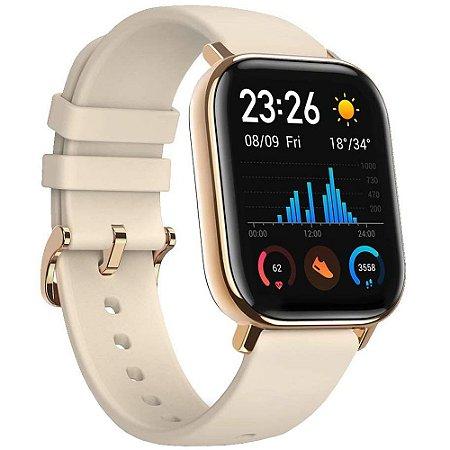Relógio Inteligente Amazfit Gts A1914 Bluetooth Desert Gold
