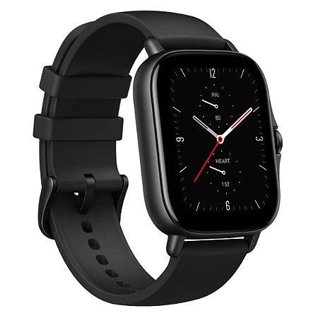 Relógio Inteligente Amazfit Gts 2e A2021 Obsidian Black