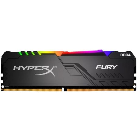 Memória Hyperx Fury Rgb 8gb 3000mhz Black Hx430c15fb3a/8