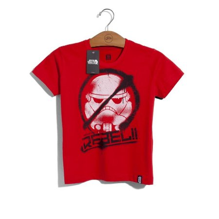 Camiseta Infantil Star Wars Rebels Rebeldes