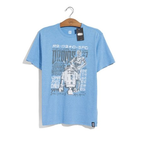 Camiseta Star Wars Tour Droids