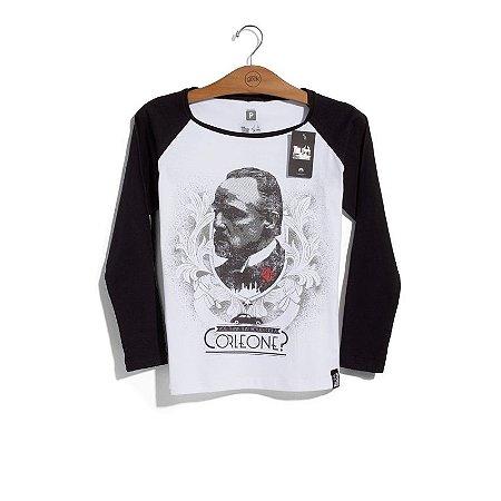 Camiseta Feminina Poderoso Chefão Corleone