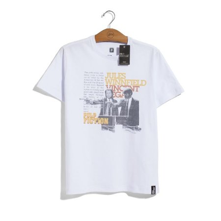 Camiseta Pulp Fiction Jules e Vincent