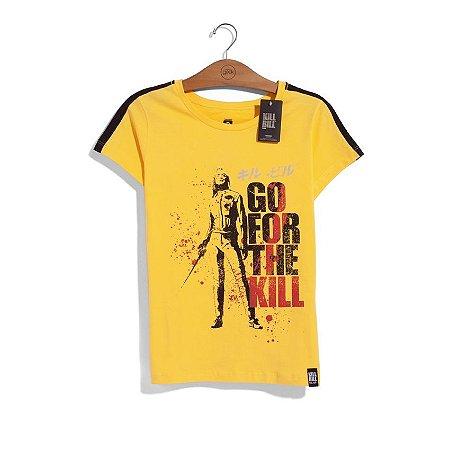 Camiseta Kill Bill Go For The Kill Feminina