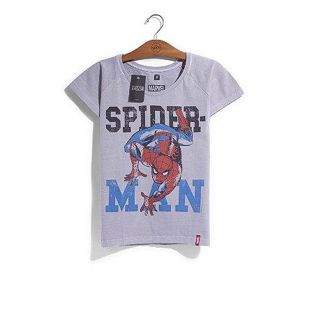 Camiseta Feminina Marvel Homem Aranha - Era de Prata