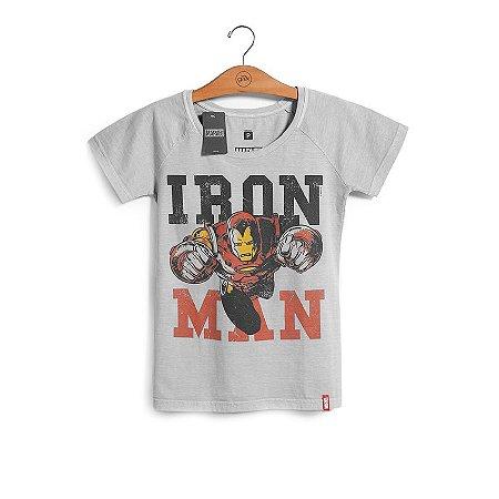 Camiseta Marvel Feminina Homem de Ferro - Era de Prata