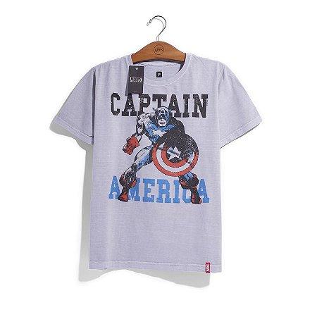 Camiseta Marvel Capitão América - Era de Prata