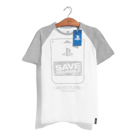 Camiseta Playstation Save Yourself
