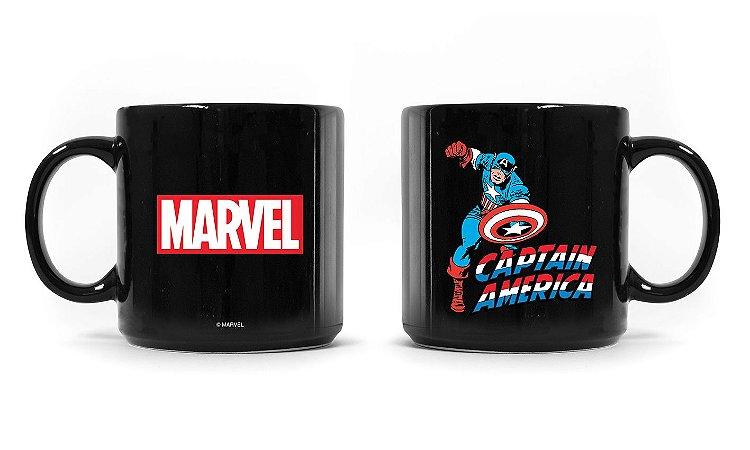 Caneca Marvel Capitão América Vintage
