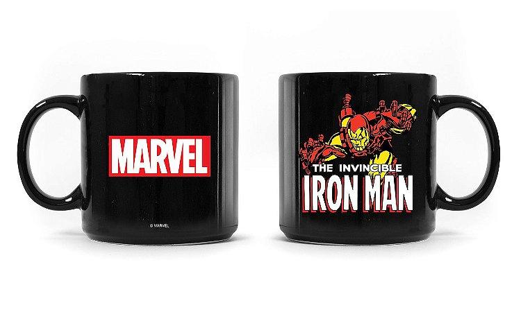 Caneca Marvel Homem de Ferro Vintage