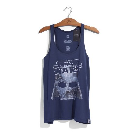 Camiseta Feminina Star Wars Capacete Vader