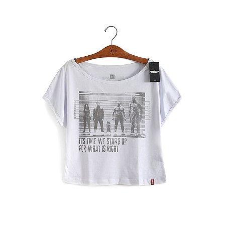 Camiseta Feminina Prisioneiros Guardiões da Galáxia
