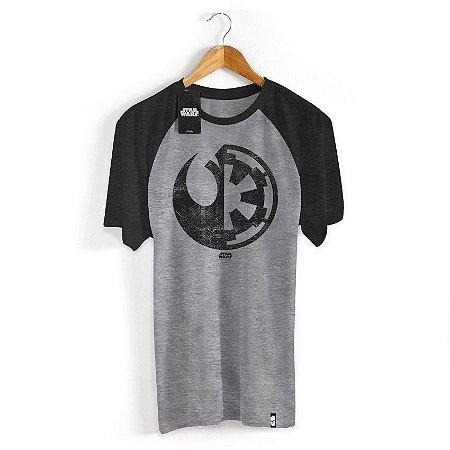 Camiseta Star Wars Rogue One Simbolos
