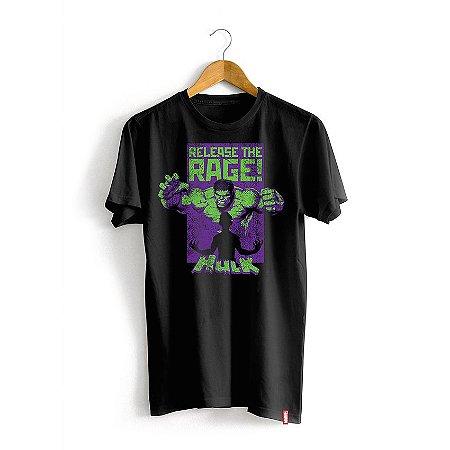 Camiseta Marvel Hulk Rage
