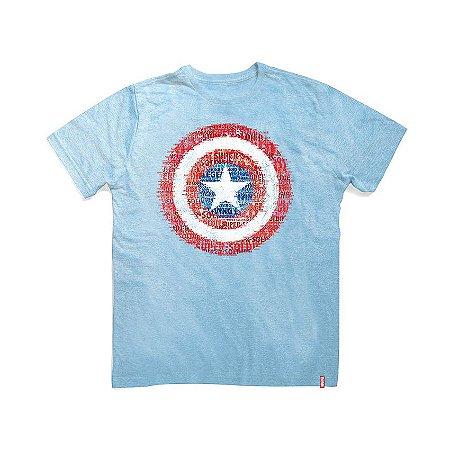 Camiseta Marvel Escudo Super Soldado