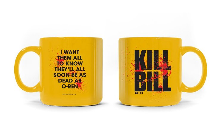 Caneca Kill Bill Logo
