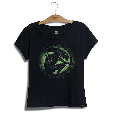 Camiseta Feminina Alien Xenomorfo