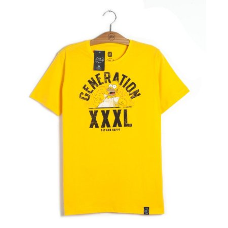 Camiseta Simpsons Generation XXXL