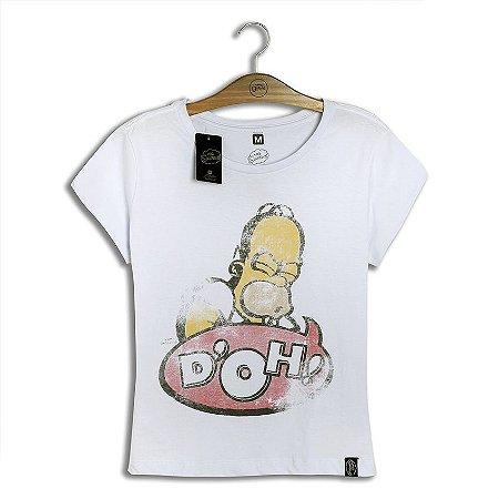 Camiseta Feminina Simpsons D'oh