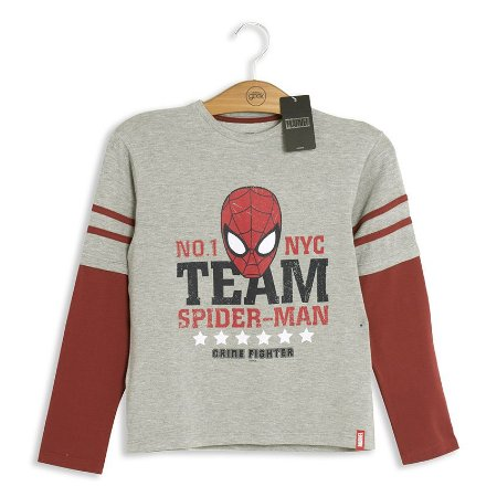 Moletom Infantil Marvel Team Spider-Man
