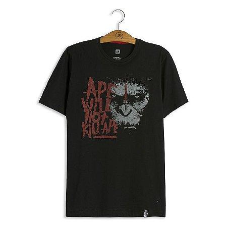 Camiseta Planeta dos Macacos Caesar