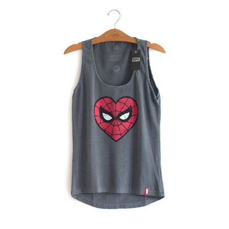 Camiseta Feminina Homem Aranha Marvel