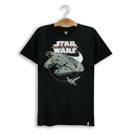 Camiseta Star Wars Millennium & X-Wing