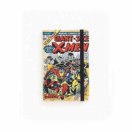 Caderno de Notas Pocket Giant Size X-Men #01 Marvel (Pequeno)