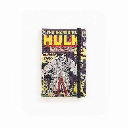 Caderno de Notas Pocket The Incredible Hulk #01 Marvel (Pequeno)