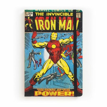 Caderno de Notas The Invincible Iron Man #47 Marvel