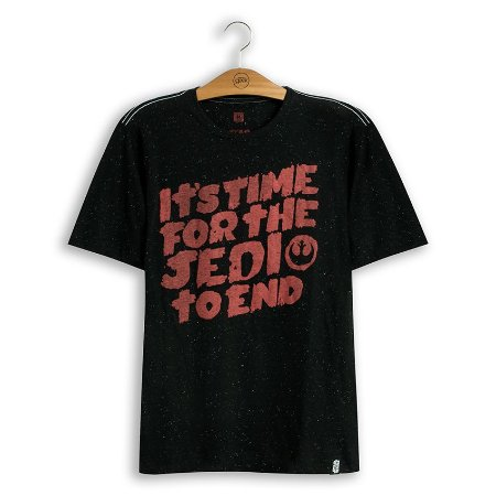 Camiseta Star Wars Jedi To End