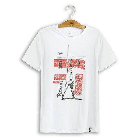 Camiseta Star Wars Rey Resist