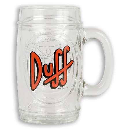 Caneca Simpsons Duff Beer